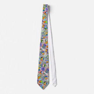 Geometrische abstrakte Krawatte