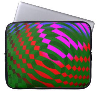 Geometrische abstrakte Muster-Laptop-Hülse Laptop Sleeve