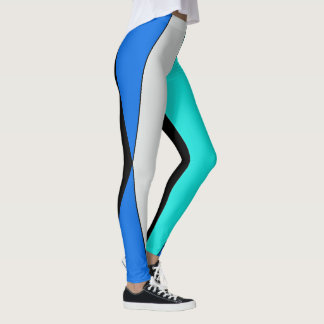 Geometrische Abstraktion Leggings