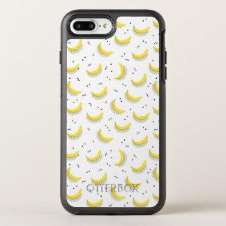 Geometrische Bananen OtterBox Symmetry iPhone 8 Plus/7 Plus Hülle
