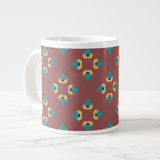 Geometrische Baumentwurfs-Kaffee-Tasse Jumbo-Tasse