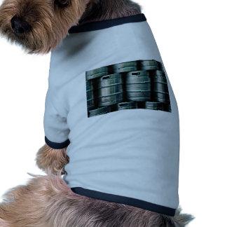 Geometrische Bierfässer Tschechische Republik Hundbekleidung