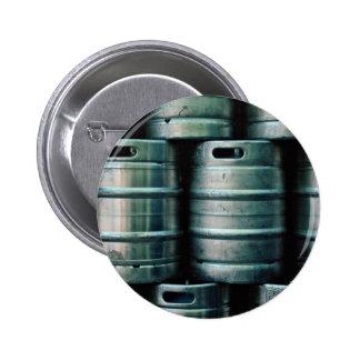 Geometrische Bierfässer, Tschechische Republik Runder Button 5,7 Cm