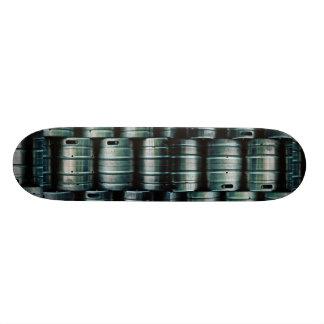 Geometrische Bierfässer, Tschechische Republik Skateboardbretter