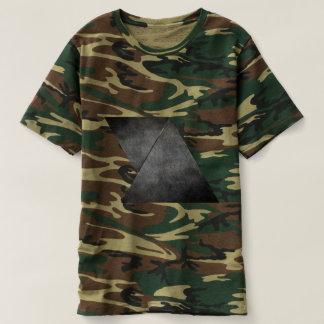 Geometrische Camouflage T-shirt