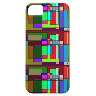Geometrische Fantasie iPhone 5 Hülle
