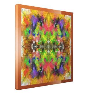 Geometrische Farbe Leinwanddruck