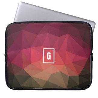 Geometrische FarbHigh-Teche Entwurfs-Laptophülse Laptopschutzhülle