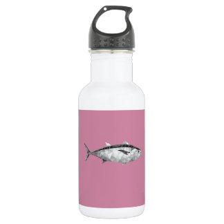 Geometrische Fische Edelstahlflasche