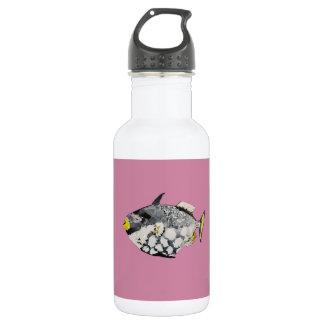 Geometrische Fische Trinkflasche
