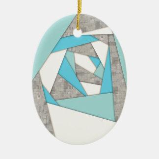 Geometrische Formen abstrakt Keramik Ornament