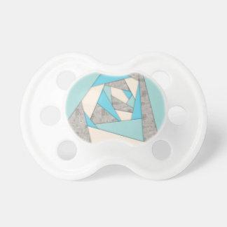 Geometrische Formen abstrakt Schnuller