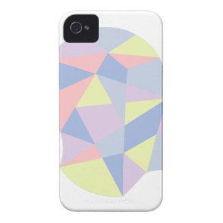 Geometrische Formen innerhalb des menschlicher Case-Mate iPhone 4 Hülle