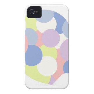 Geometrische Formen innerhalb des menschlicher Case-Mate iPhone 4 Hüllen