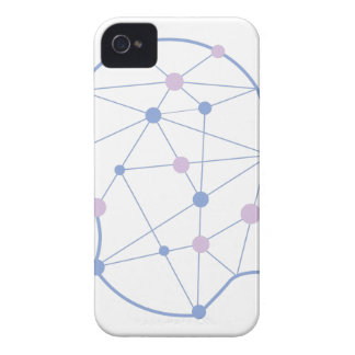 Geometrische Formen innerhalb des menschlicher iPhone 4 Hülle