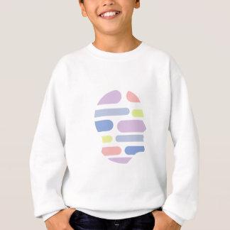 Geometrische Formen innerhalb des menschlicher Sweatshirt