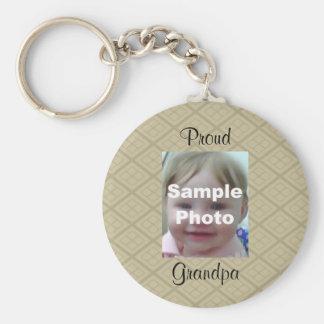Geometrische Fotografie Keychain TANs Schlüsselanhänger