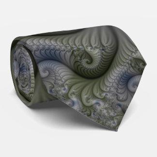 Geometrische Fraktal-Krawatte Personalisierte Krawatten