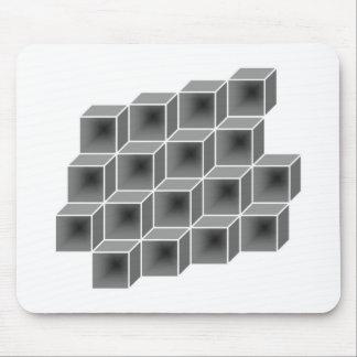geometrische Kästen Mousepad