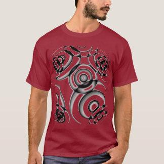 Geometrische Kreise T-Shirt
