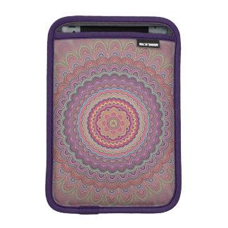 Geometrische Mandala des Hippie Sleeve Für iPad Mini