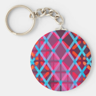 Geometrische Maße: Grundlegendes rundes Keychain Schlüsselanhänger