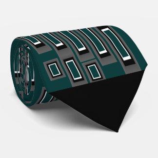 Geometrische Muster-Krawatte 4 Bedruckte Krawatten