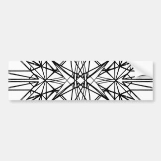 geometrische Symmetrie Autoaufkleber