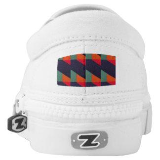 Geometrische Würfel Slip-On Sneaker