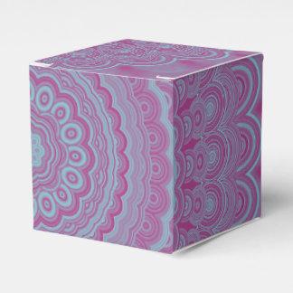 Geometrischer Blume Mandala Geschenkschachtel