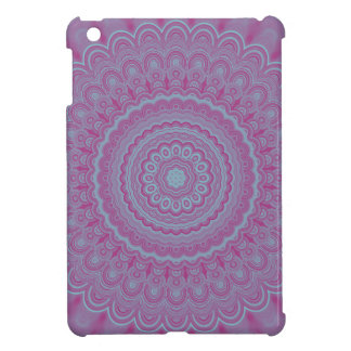 Geometrischer Blume Mandala iPad Mini Hülle