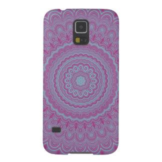 Geometrischer Blume Mandala Samsung Galaxy S5 Hülle