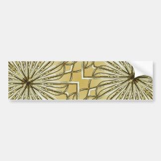 Geometrischer Blumen-Hintergrund Autoaufkleber