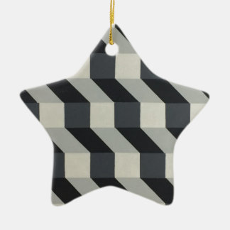 Geometrischer Entwurf - durch Dominic Joyce Keramik Ornament