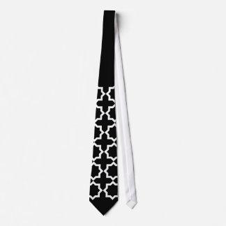 Geometrischer Entwurf Personalisierte Krawatten