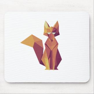 Geometrischer Fox Mousepads