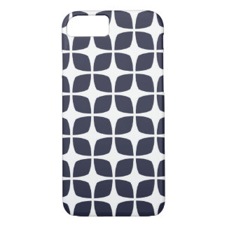 Geometrischer iPhone 7 Fall im Marine-Blau iPhone 8/7 Hülle