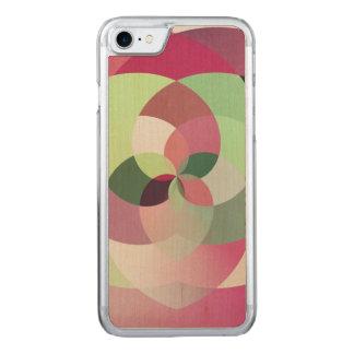 Geometrischer Kaleidoskop-Entwurf in den Carved iPhone 8/7 Hülle