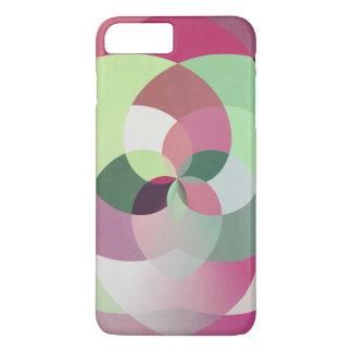 Geometrischer Kaleidoskop-Entwurf in den iPhone 8 Plus/7 Plus Hülle