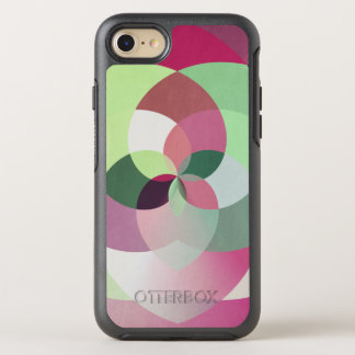 Geometrischer Kaleidoskop-Entwurf in den OtterBox Symmetry iPhone 8/7 Hülle