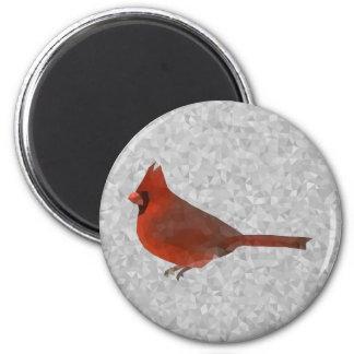 Geometrischer Kardinal Runder Magnet 5,1 Cm