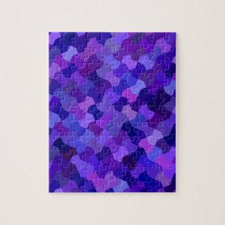 Geometrischer Kunst-Entwurf Puzzle