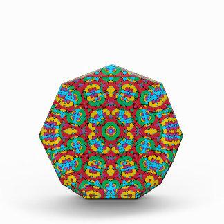 Geometrischer mehrfarbiger Druck Auszeichnung