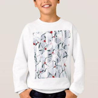 Geometrischer Mistelzweig-Feiertags-Entwurf Sweatshirt