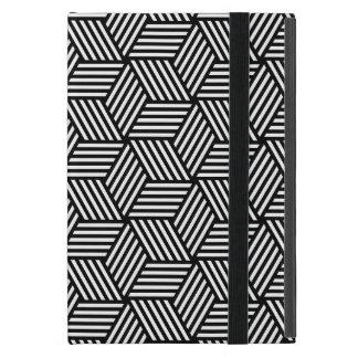 Geometrischer Musterkunstentwurf iPad Mini Hüllen