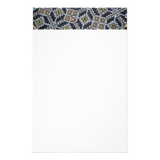Geometrischer Punkt gemaltes Muster Briefpapier
