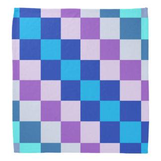 Geometrischer quadratischer Hundebandana Halstuch