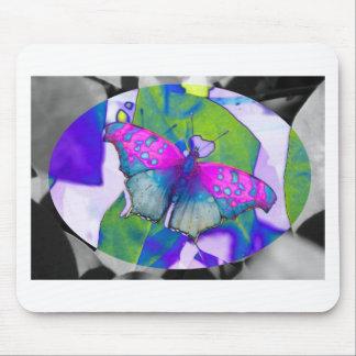 Geometrischer Schmetterling Mousepad