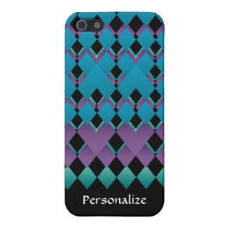 Geometrischer Spaß färbt Telefon-Abdeckung iPhone 5 Schutzhülle