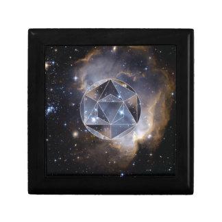 Geometrischer Sternhaufen Geschenkbox